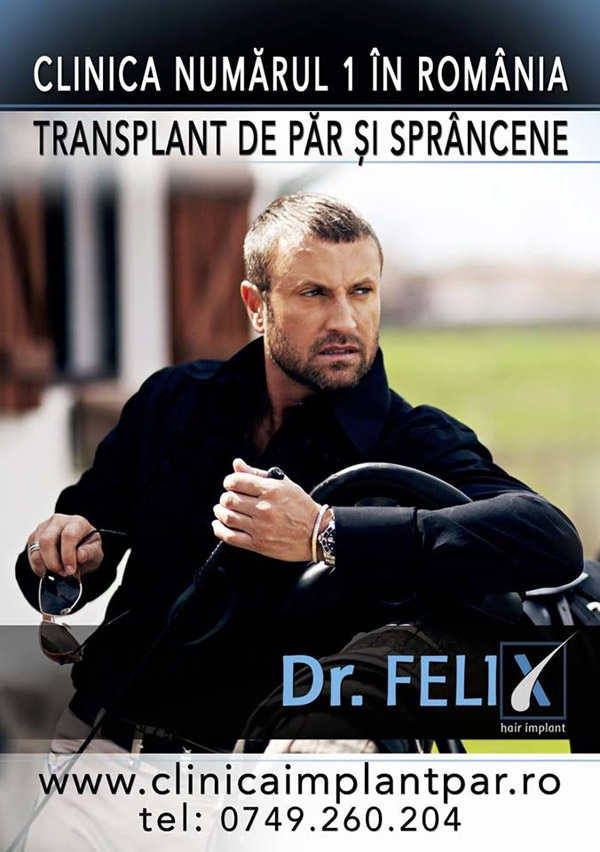 Campanie Dr. Felix Hair Implant