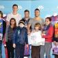 Eveniment caritabil: daruri din partea echipei Steaua Bucuresti pentru copii orfani / Plaza Romania